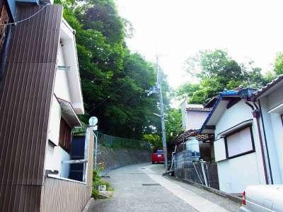 三木城址 ナメラ商店街から本丸への道