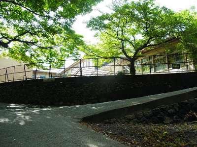 三木城址 保育所(かつての本丸の一角)