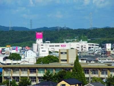 三木城本丸からの眺望