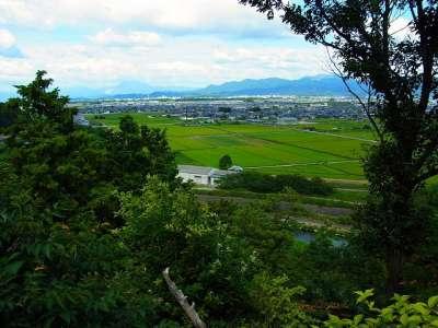 山崎山城からの眺望 だいたい東