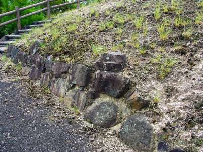 山崎山城 石垣