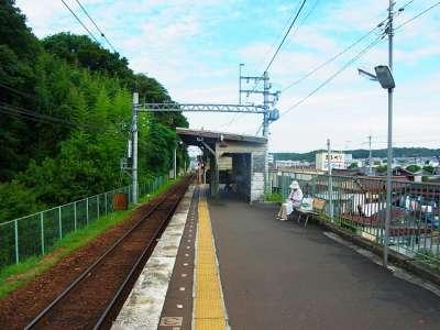 神戸電鉄粟生線 三木上の丸駅